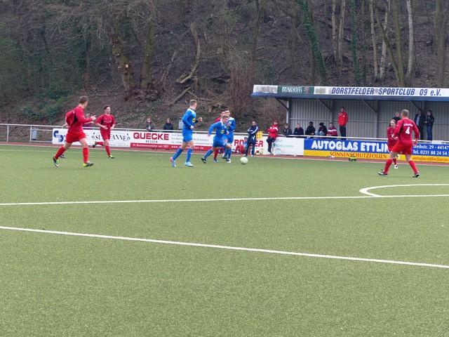 Die Erste schafft den Anschluss nach oben – A-Jugend stürmt ins Halbfinale des Kreispokals!