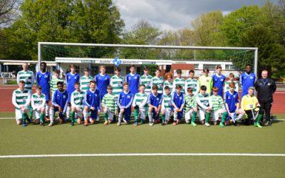 B1- Freundschaftsspiel gegen die Knocklyon United F.C. erfolgreich
