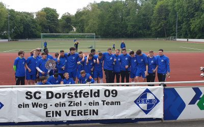 Herzlichen Glückwunsch der A-Jugend zur Meisterschaft – C2 sichert sich die Vizemeisterschaft.