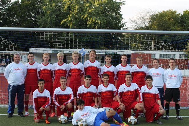 A-Jugend-Mannschaft Saison 2012/2013
